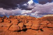 stock photo of goblin  - Goblin Valley SP - JPG