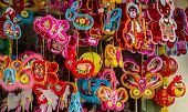 Colorful lanterns at Chinatown, Ho Chi Minh city, Vietnam