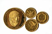 Old Gold Coins of America
