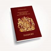 vector UK passport