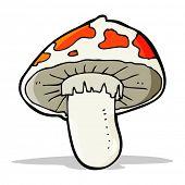 cartoon poisonous toadstool