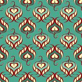 Abstract seamless pattern.Vector illustration
