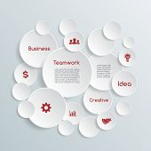 Vector business infographic.