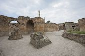 Antonine Thermae in Carthage; Tunis; Tunisia