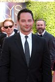 LOS ANGELES - AUG 16:  Nick Kroll at the 2014 Creative Emmy Awards - Arrivals at Nokia Theater on Au