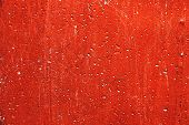 Plaster Or Cement Texture Red Color