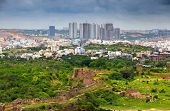 HYDERABAD INDIA - August 29 : Hyderabad is fifth largest contributor city to India's GDP with US$74 billion . On August 29,2012 Hyderabad, India