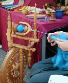 Spinning wool 2