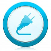 plug icon electricity sign