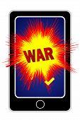 Cyberwar With Smartphone