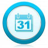calendar icon organizer sign agenda symbol