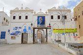 Political posters of Ali Abdullah Saleh, Shibam, Yemen.