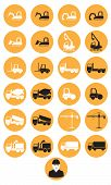 constructions machinery icons
