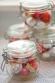Home Made Pralines In Jar