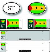 Sao Tome And Principe Auto Set