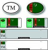 Turkmenistan Auto Set
