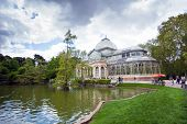 Crystal Palace (palacio De Cristal) In Retiro Park, Madrid
