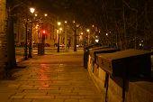 Embankment Of Seine River.