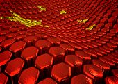 Chinese background  theme - 3D render