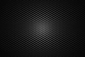 picture of ironworker  - Abstract silver diamond mesh background with center point light - JPG