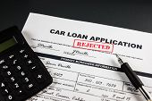Car Loan Application Rejected 006