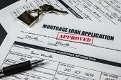 Mortgage Loan Application Approved 004