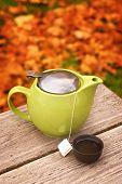 Autumn Tea Pot