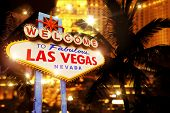 Постер, плакат: Night In Las Vegas