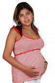 Chilean Pregnant Woman
