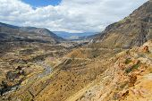Colca Canyon, Peru Panorama