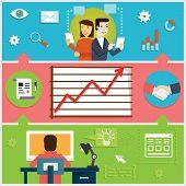 Infographic Of Creative Process, Web Design, Programming & Development Business