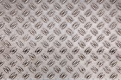 Abstract Pattern Of Worn Aluminium Plate