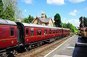 Railway carriages, Hampton Loade.