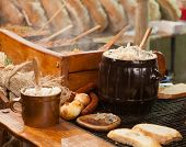 Traditional Polish food - Smalec