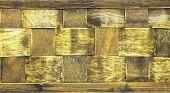 Wood Wicker Background