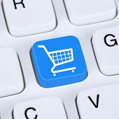 picture of internet shop  - Internet concept online shopping order e - JPG