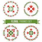 stock photo of scandinavian  - Set of design elements  - JPG