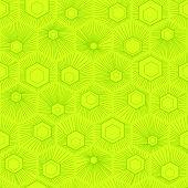 pic of hexagon pattern  - Vector hexagon background - JPG