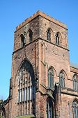 picture of church-of-england  - View of the Abbey Church of Saint Peter and Saint Paul Shrewsbury Shropshire England UK Western Europe - JPG