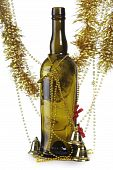 Bottle And Tinsel