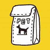 foto of bag-of-dog-food  - Doodle Pet Food - JPG