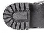 picture of sole  - Black shoe sole - JPG