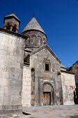 foto of armenia  - Geghard or Ayrivank medieval rock monastery - JPG