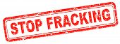 stock photo of ban  - stop fracking polution of ground water ban shale gas and hydraulic or hydrofracking - JPG