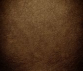 stock photo of coyote  - Coyote brown color leather texture background for design - JPG