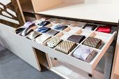 foto of wardrobe  - Ties in wardrobe - JPG