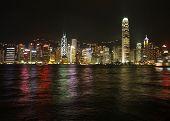 Hongkong Night Skylines