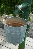 Water Pump And Bucket