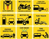 Car Icons : Auto Service