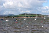 Boats on River Exe